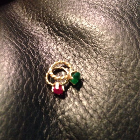Mini Ruby OR Emerald Ring! ADORABLE! I bought way too many of these, lol! Solid 14k and gemstones! Comment and let me know which one you want! They are completely new! From my closet to yours! Enjoy ;) Jewelry