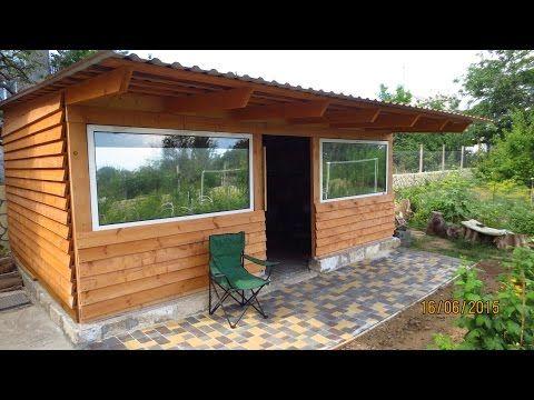 gartenhaus selber bauen aus holz holzh tte aufbauen ideen f r den garten youtube bau. Black Bedroom Furniture Sets. Home Design Ideas