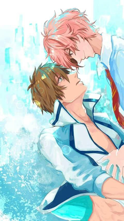 Pin su Sex-starved in the water (Free! moments)