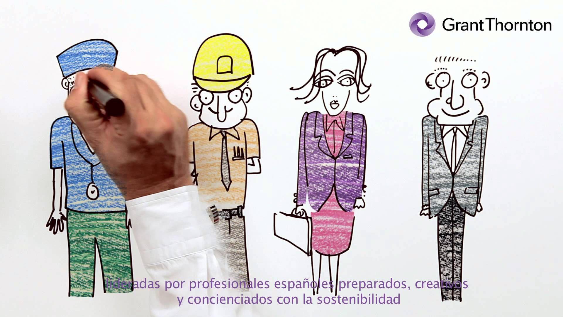 La auditora financiera Grant Thornton ideó un vídeo corporativo en el que explicó las bondades de España.