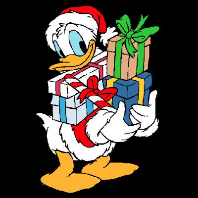 Disney Xmas Characters Christmas Clip Art Images Disney Christmas Christmas Clipart Donald Duck Drawing