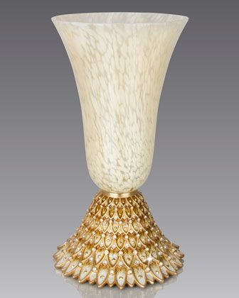 Feather Vase by Jay Strongwater at Neiman Marcus Jay Strongwater - jarrones decorativos