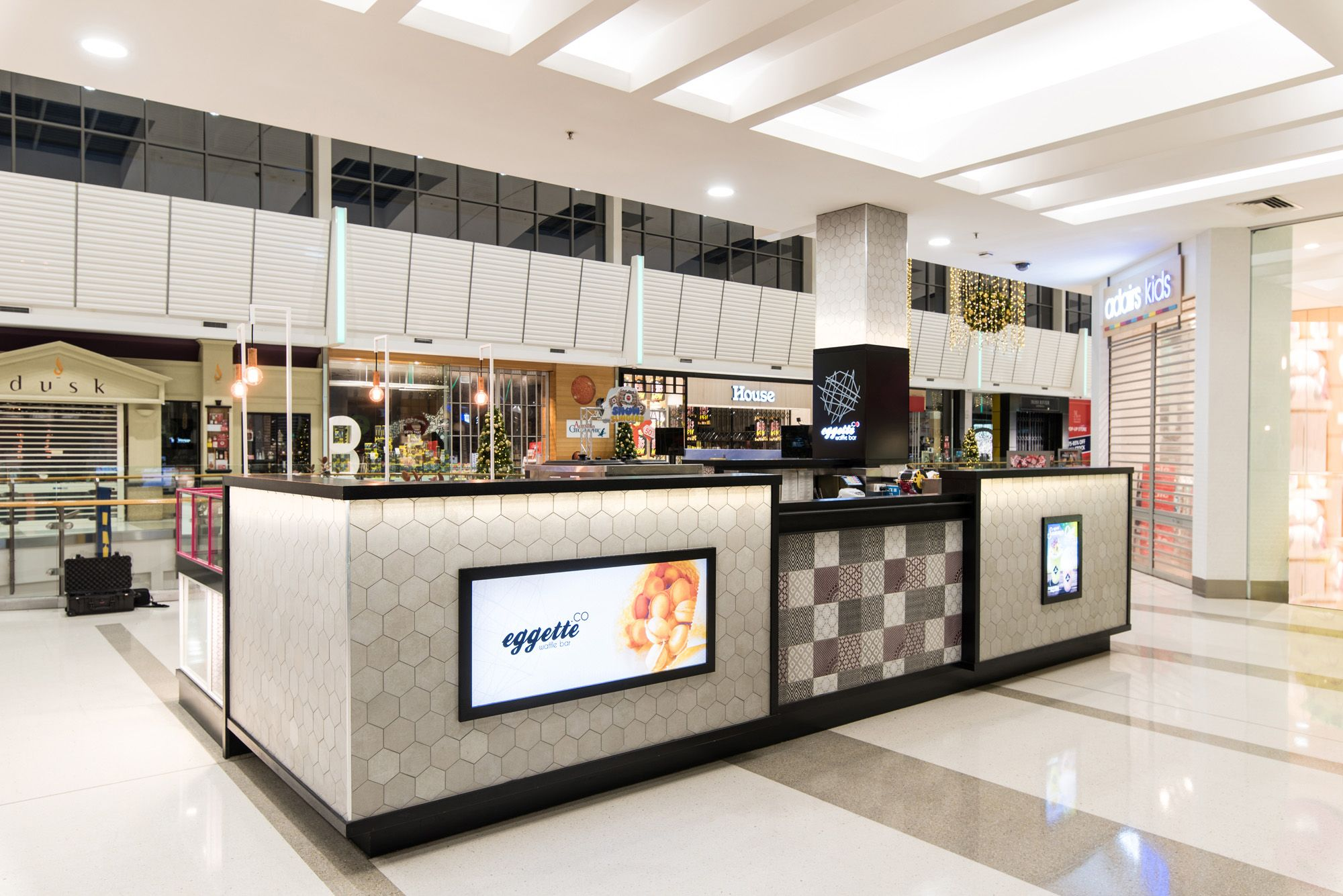 Basalt Studio Interior Design Architecture Sydney Retail Shop Food Eggette Waffle Bar Kiosk Rhodes12