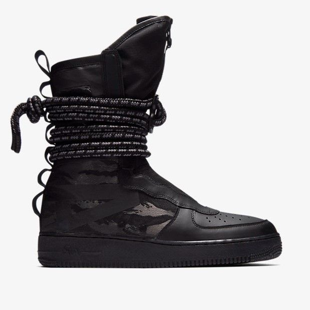 a7ad72d3263 Release des Nike SF Air Force 1 High Boot Tactical Command ist am  02.02.2018. Bleibe mit 99kicks.com immer auf dem Laufenden was heiße  Sneaker Releases ...