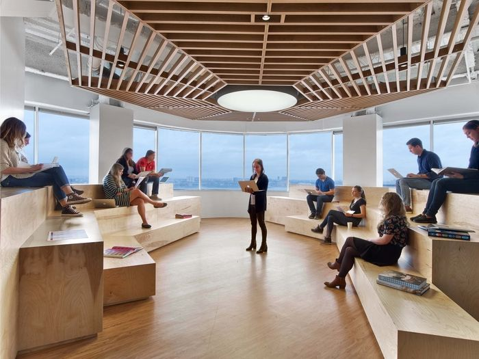 Office tour: saatchi & saatchi offices u2013 new york city cera