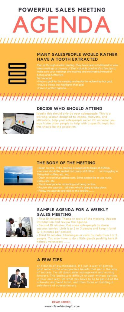 Sales Management Tips Powerful Sales Meeting Agenda Learn more at - Sample Sales Meeting Agenda