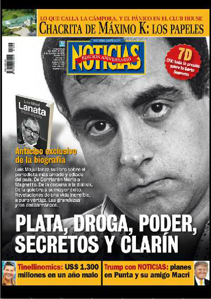 Tapa revista noticias de esta semana portadas for Revistas de espectaculos de esta semana