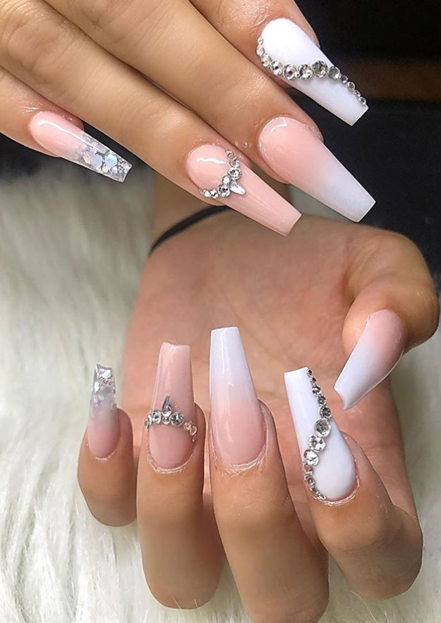 42 Beautiful Acrylic Coffin Ballerina Nails Design Ideas This Summer Page 28 Of 42 Latest Fashion Trends For Woman Ballerina Nails Designs Coffin Nails Designs Best Acrylic Nails