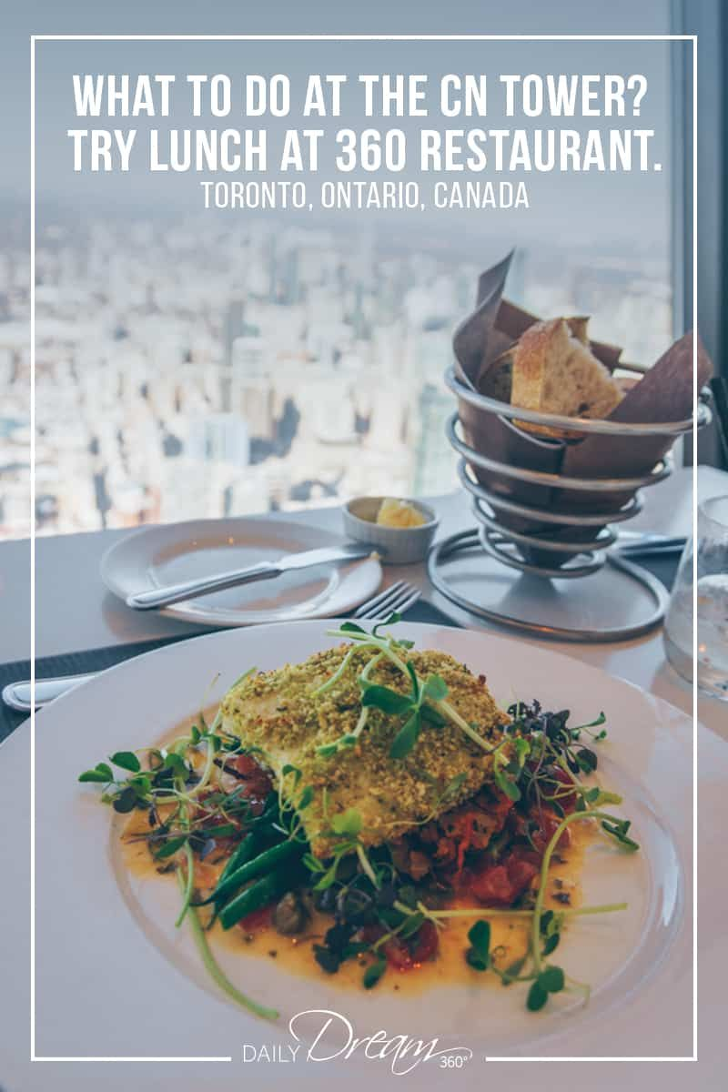 Did You Know A Prix Fixe Lunch Or Dinner At 360 Restaurant Toronto Gives You Access To The Cn Tower Lookout Levels We Toronto Travel Foodie Travel Food Guide