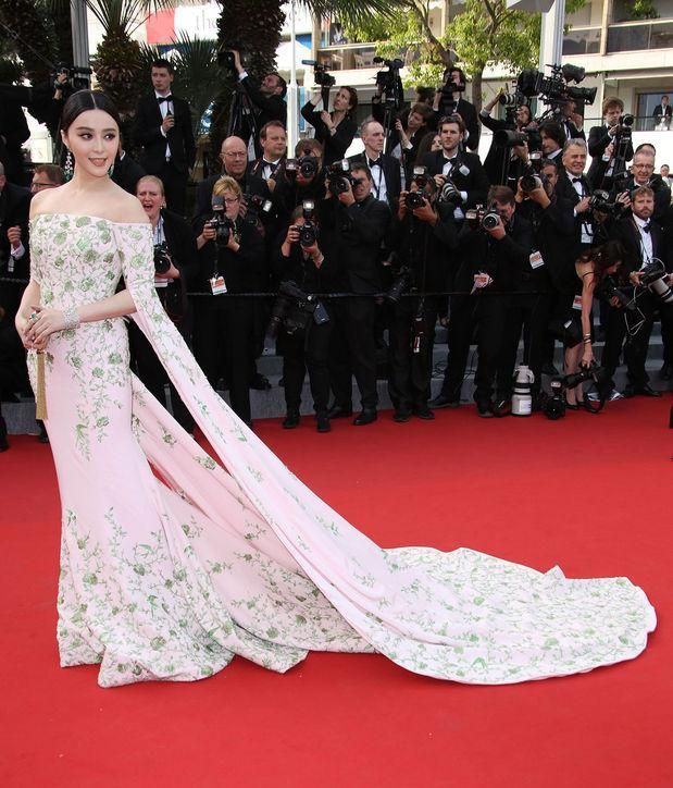 10 of Fan Bingbing's best-ever red-carpet gowns - see them all by clicking (including this Ralph & Russo couture dress)