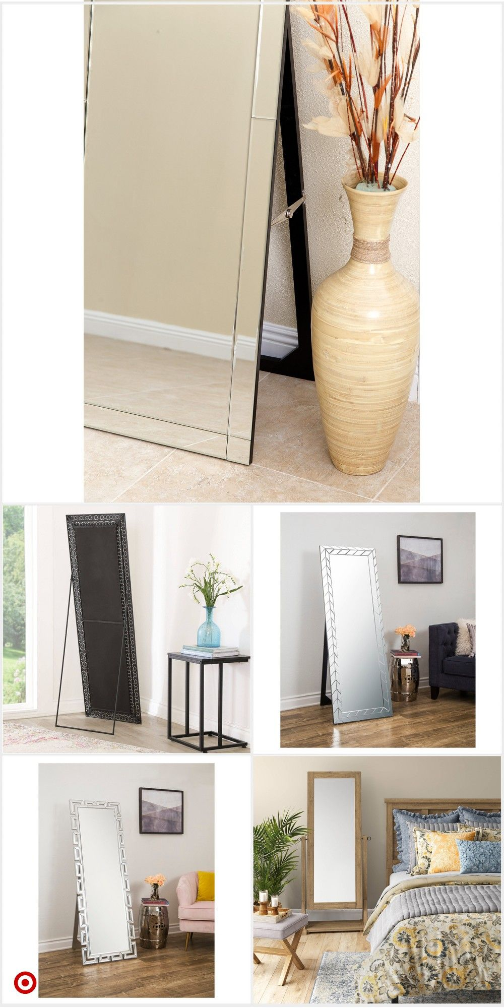 Shop Target For Floor Mirror You Will Love At Great Low Prices Free Shipping On Orders Of 35 Or Free Same Day Floor Mirror Leaning Floor Mirror Mirror Decor