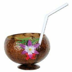 Hawaiian Luau Small Coconut Cup