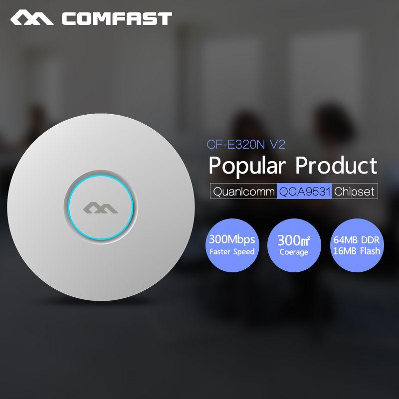 COMFAST 300Mbps Wireless AP 802.11b/g/n WiFi Ceiling AP QCA9531 ...
