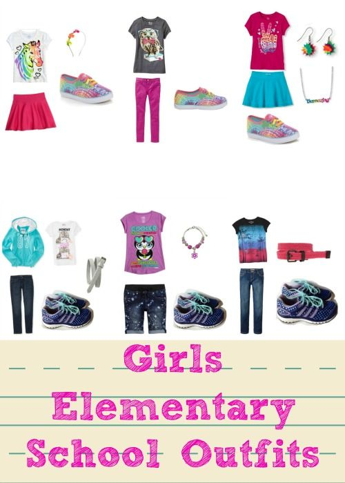 27c09e92f0 Middle School And Elementary School Back To School Outfits | Best of ...
