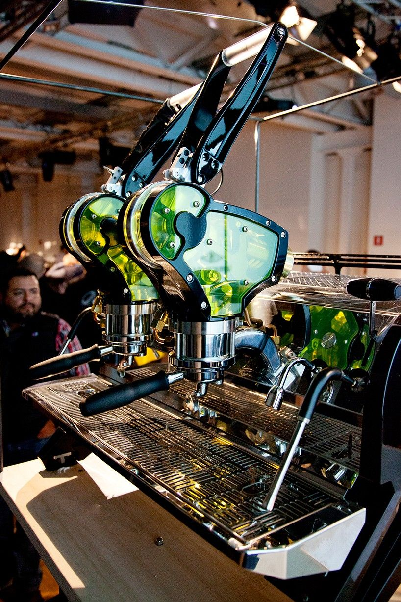 espresso machine concept designed by la marzocco offers