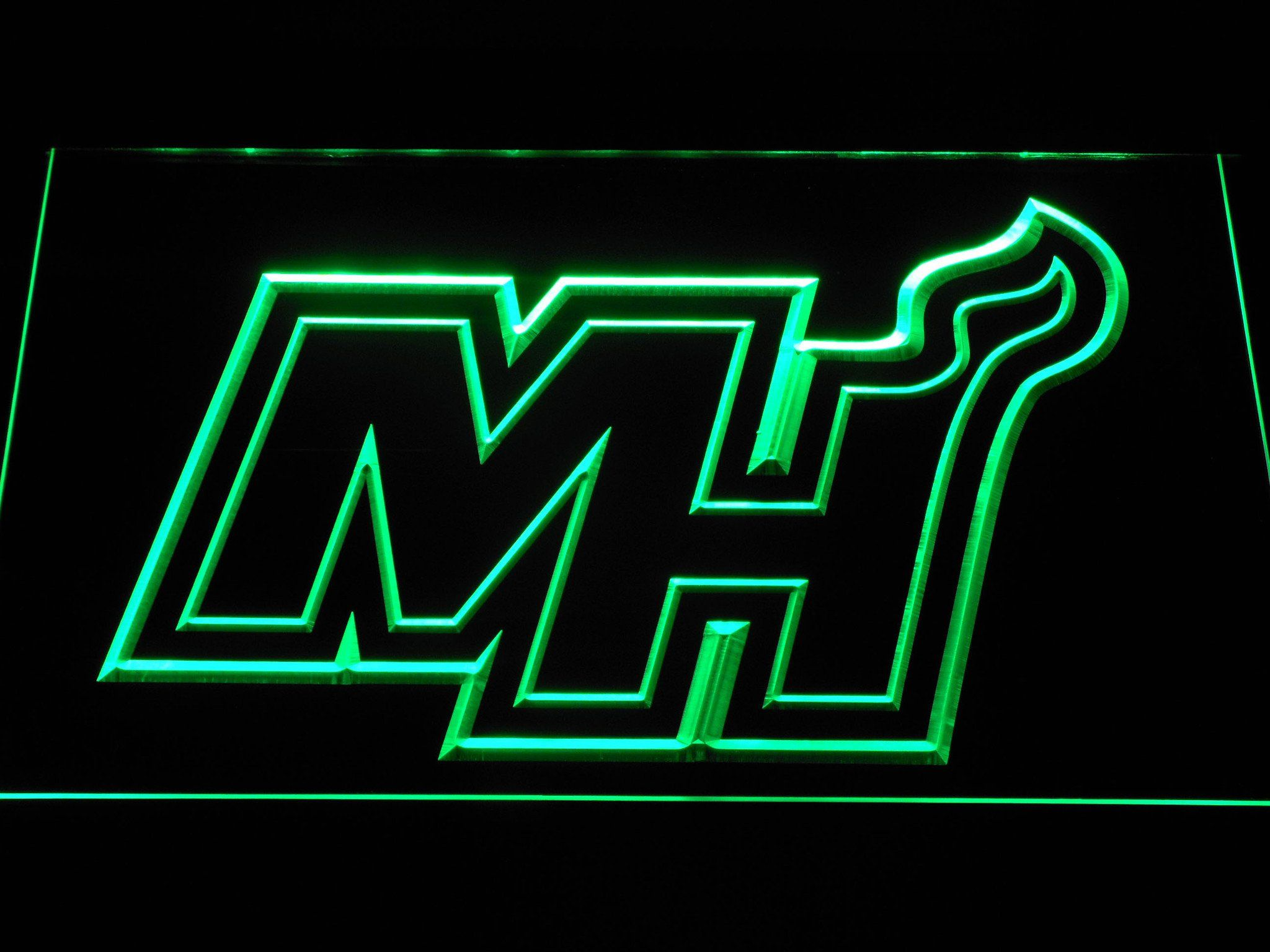 Miami Heat MH LED Neon Sign Led neon signs, Neon signs