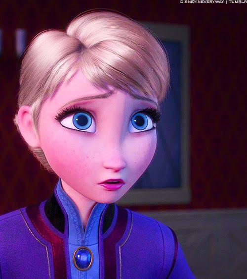 """Do you have to go?"" -Elsa"