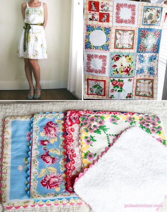 Assez DIY projets de couture avec des mouchoirs des mouchoirs tissu dont  UE03
