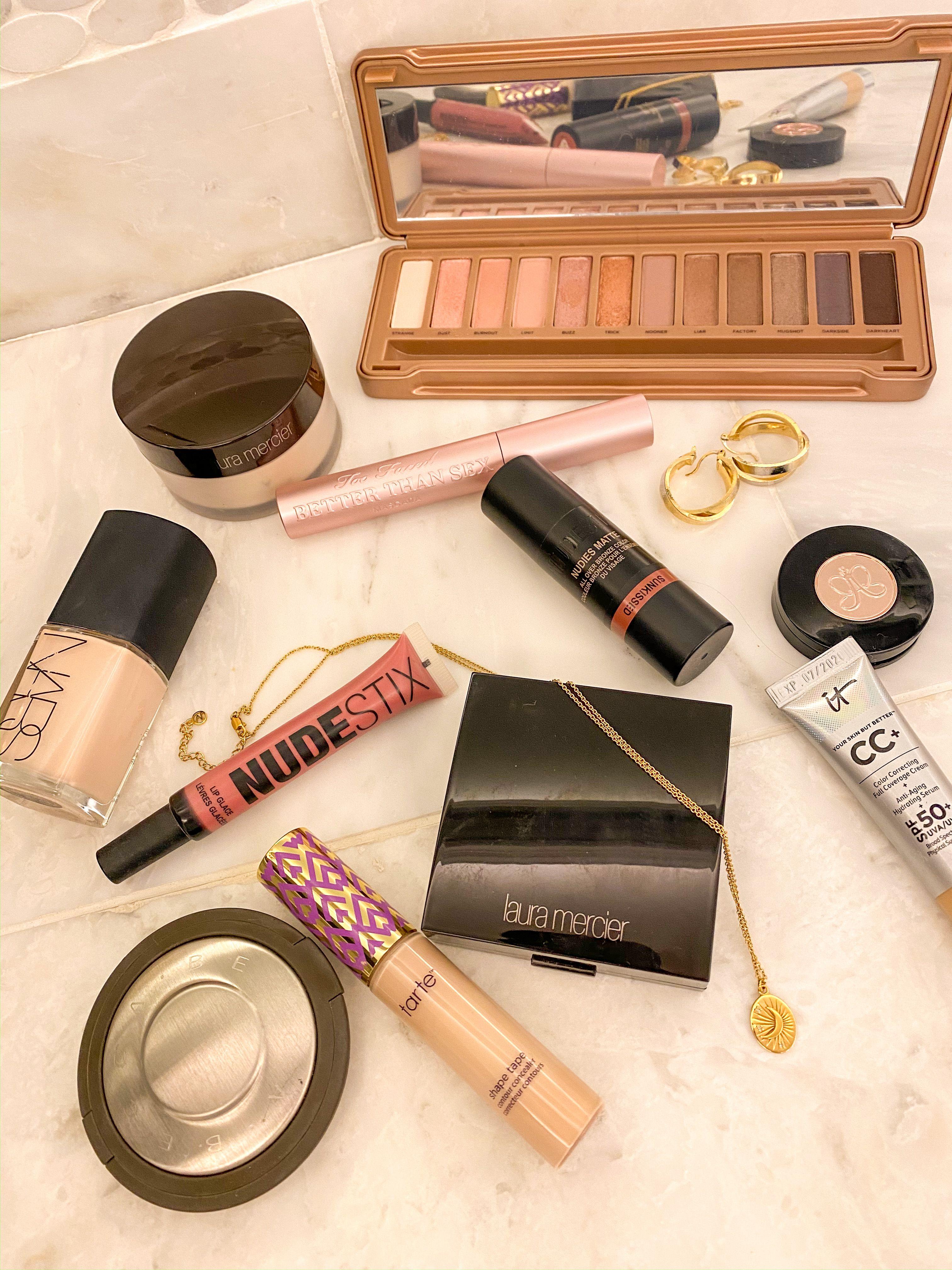 My Tan, Glowy Makeup Routine in 2020 Glowy makeup