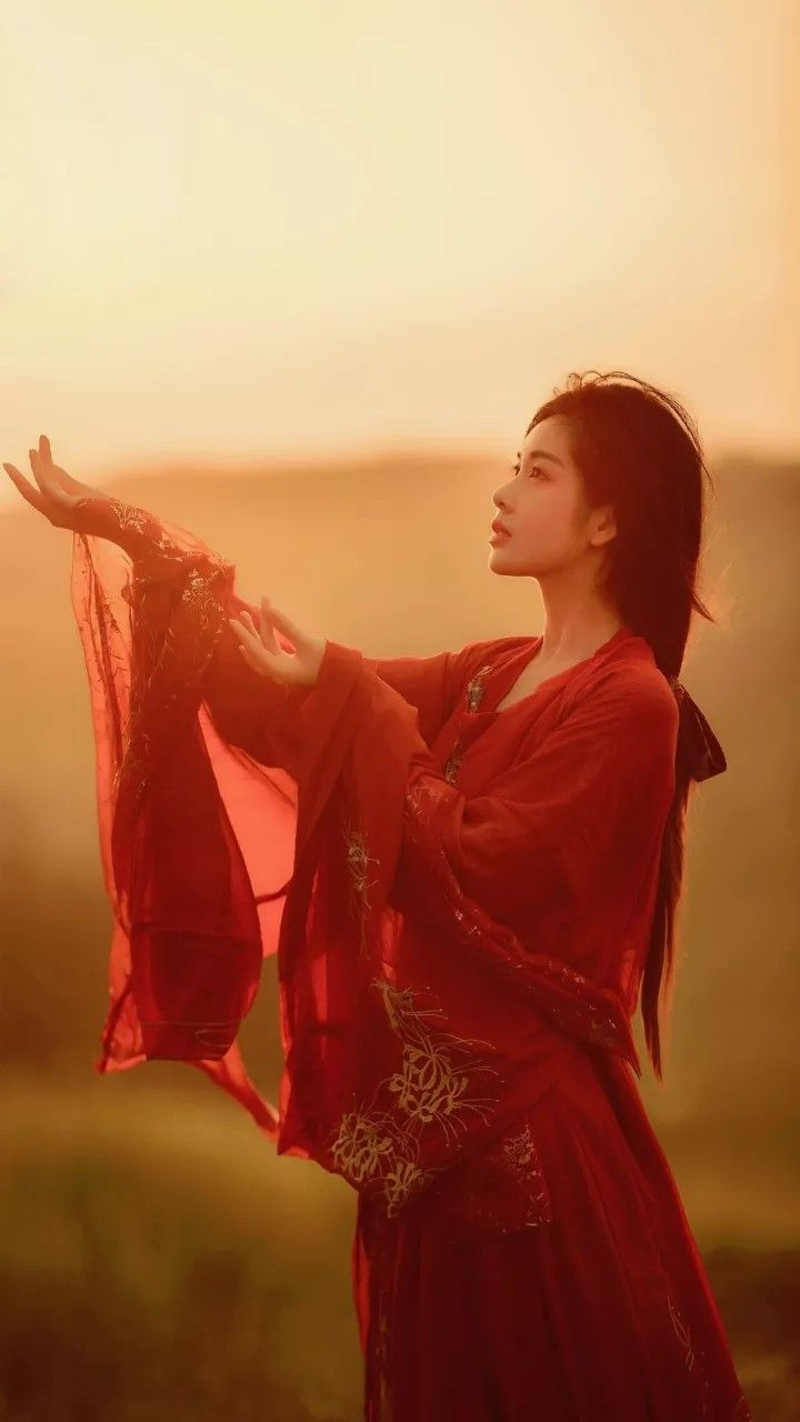 Hanfu(Traditional Han ethic clothes) image by Henry Bian