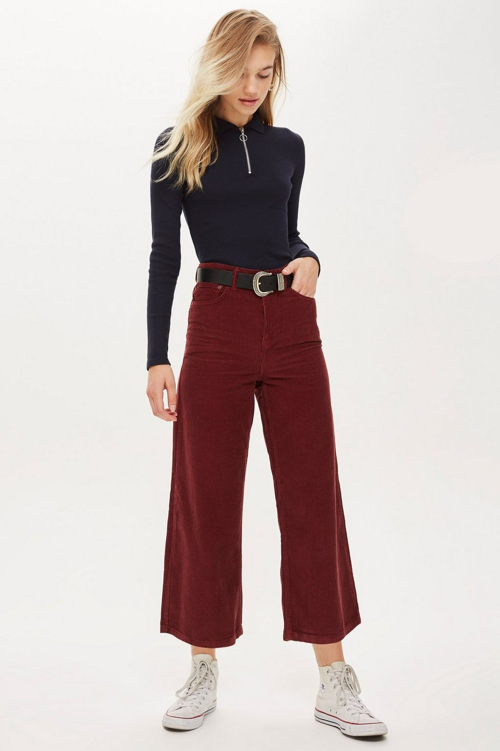 ff8a2f68f44f6 Plum Cropped Wide Leg Jeans - New In Fashion - New In - Topshop USA ...