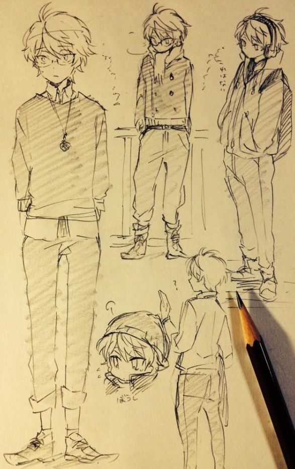 Anime Boy Character Design : Pin by chibigirl on draw pinterest anime drawings