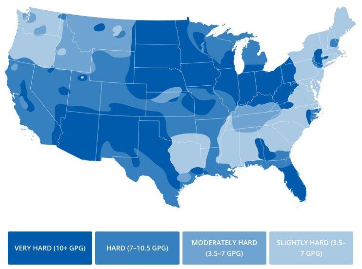 Water Softeners Water Water Design Map