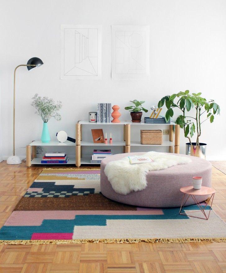 Samtige Lieblinge Die neuen Poufs und Sitzkissen Interiors