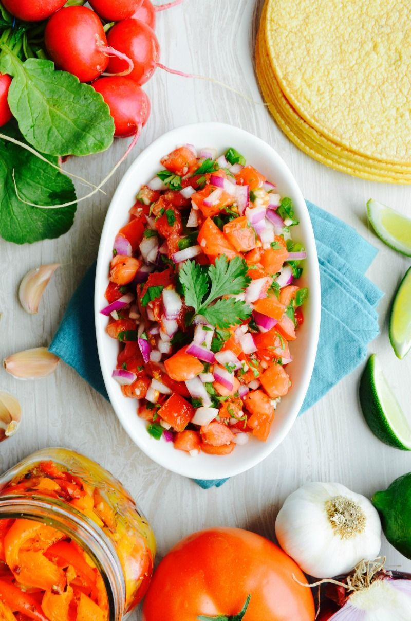 No Added Salt Pico De Gallo