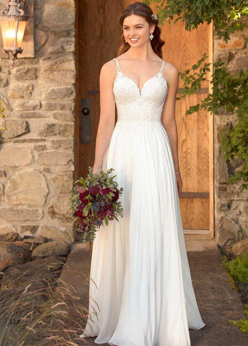 Simple Wedding Dresses, Marvelous Tulle & Chiffon
