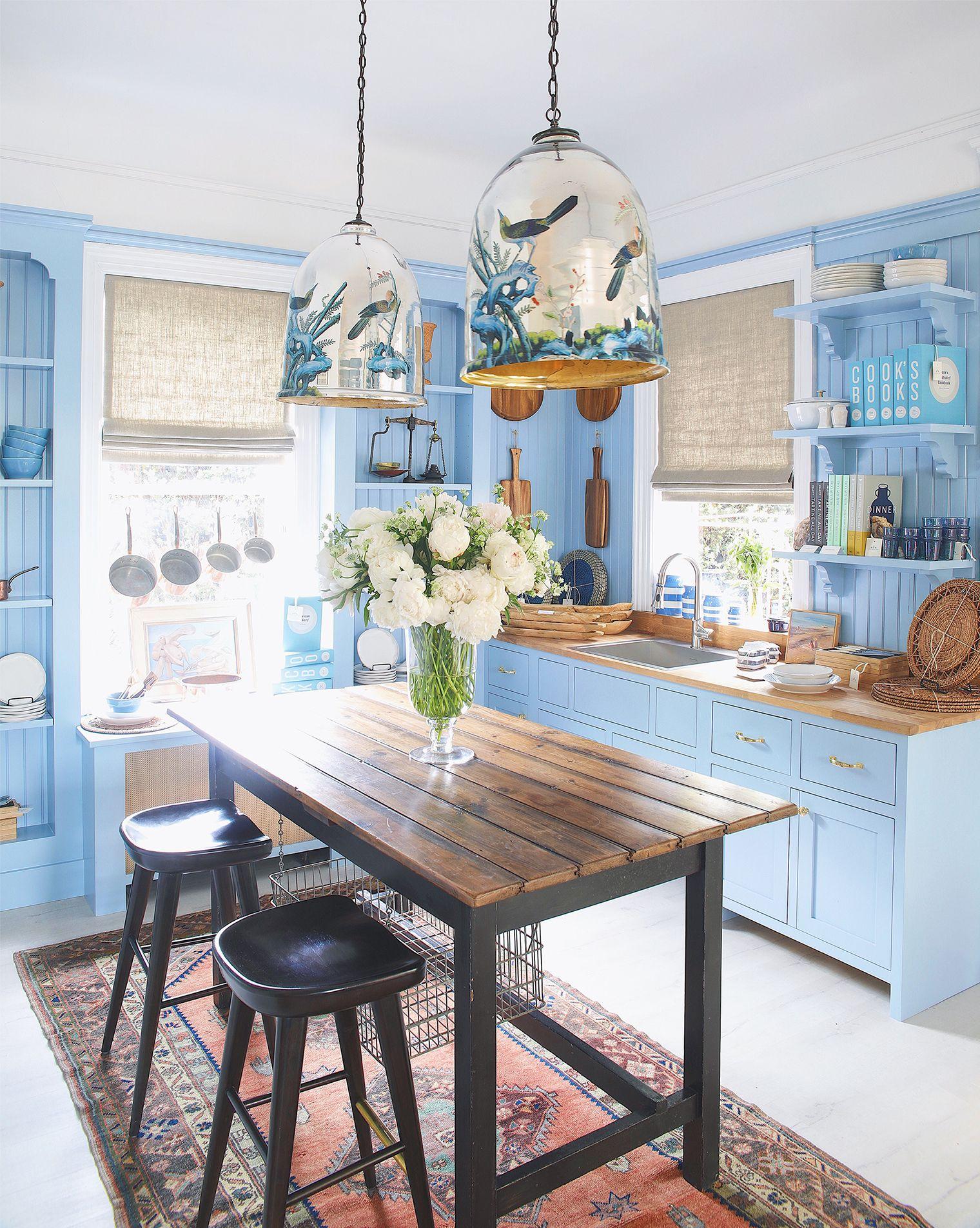 One Kings Lane Southampton Store Tour   Kitchen cabinets ...
