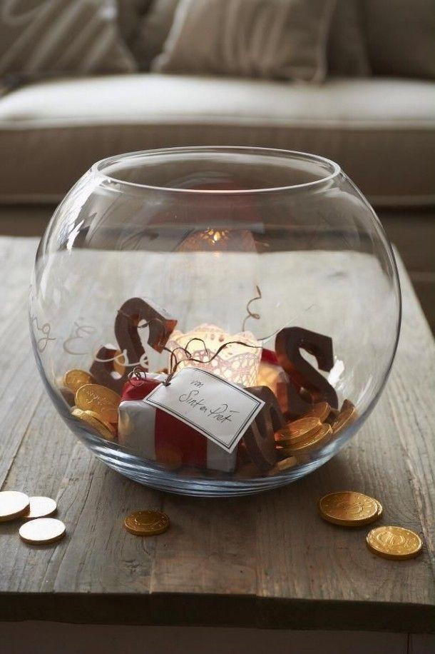 Sinterklaas decoratie heel simpel maar zo leuk gebruik for Decoratie in vaas