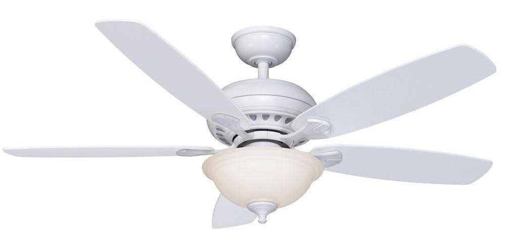 White Altura Fan from Hampton Bay | Decor ideas | Pinterest ...