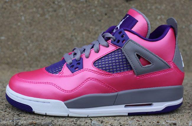 33a22b488d4 Releasing  Girls Air Jordan 4  Pink Foil