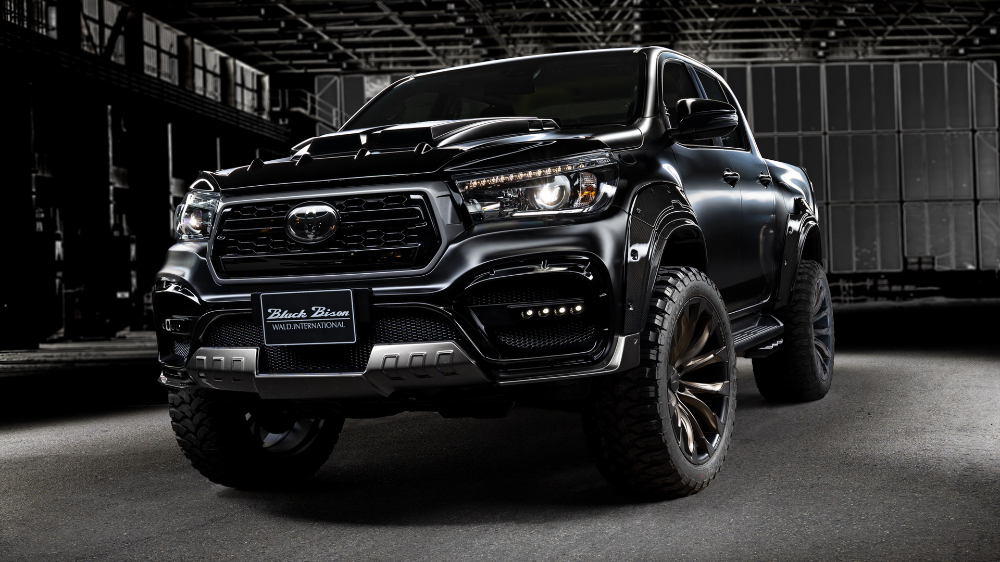 Wald S Toyota Hilux Black Bison Edition Looks Like It Could Eat A