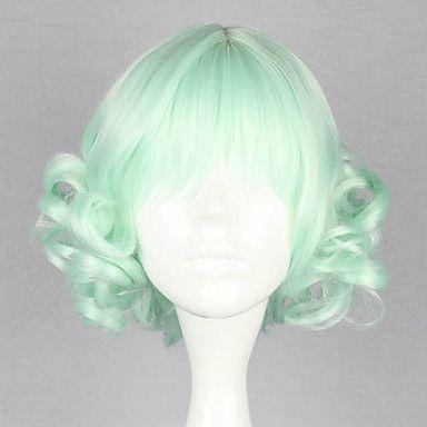 Mint Curly Bob 32cm Sweet Lolita Wig – USD $ 29.99