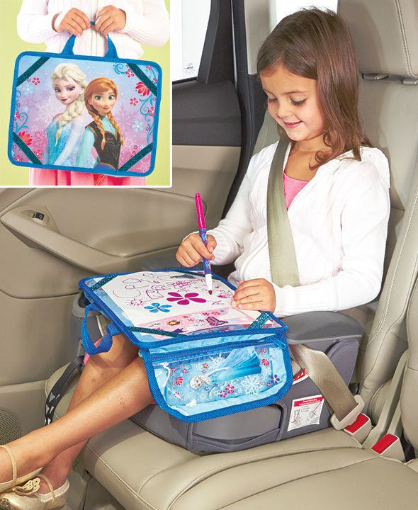 Details about Travel Lap Desk Kids Art Set Disney's Frozen for Car Home or  Airplane Folds Up - Details About Travel Lap Desk Kids Art Set Disney's Frozen For Car