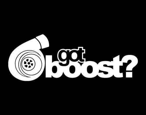 got boost turbo logo on american apparel unisex mens