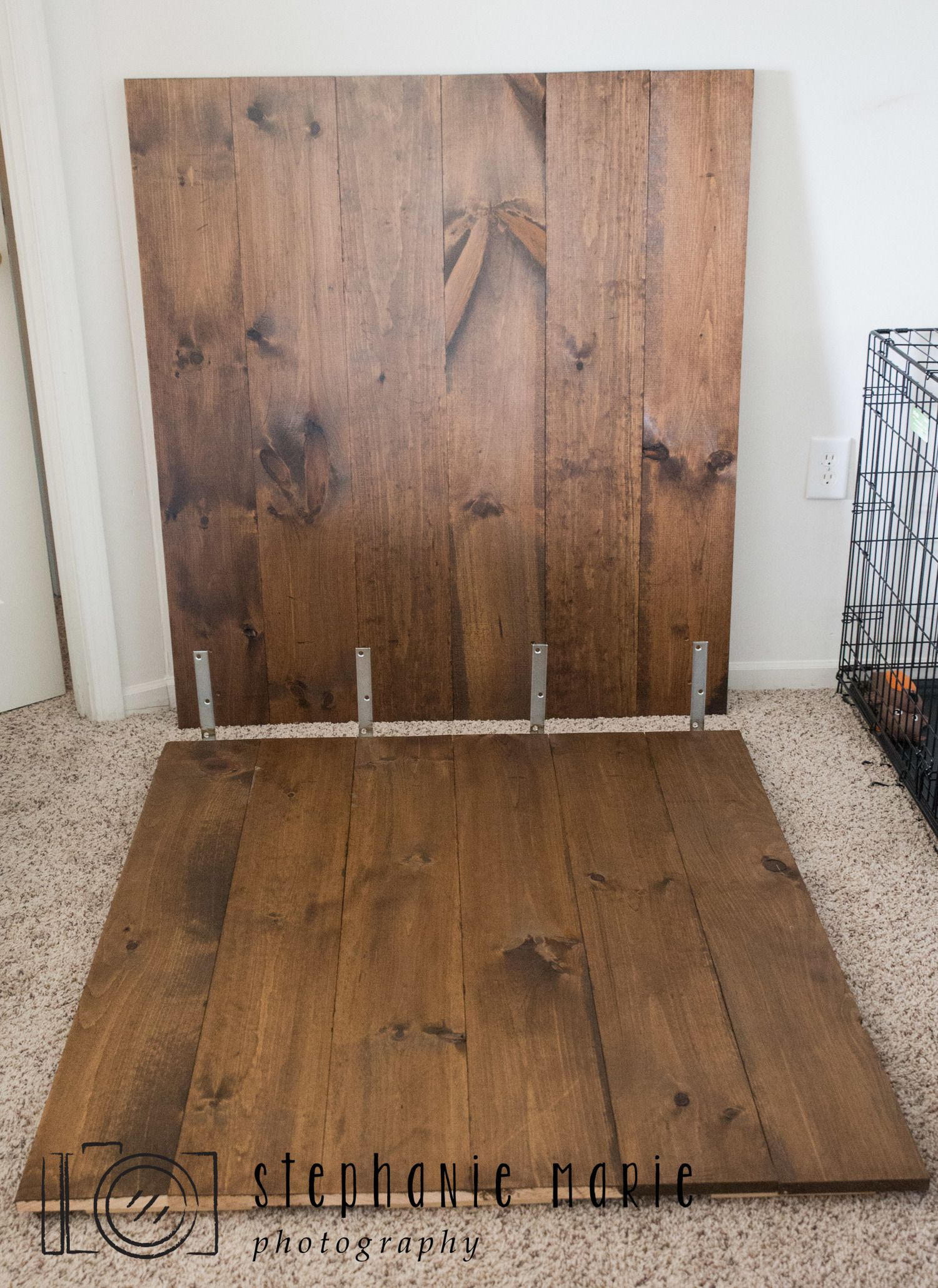 Diy Faux Hardwood Wall Floor