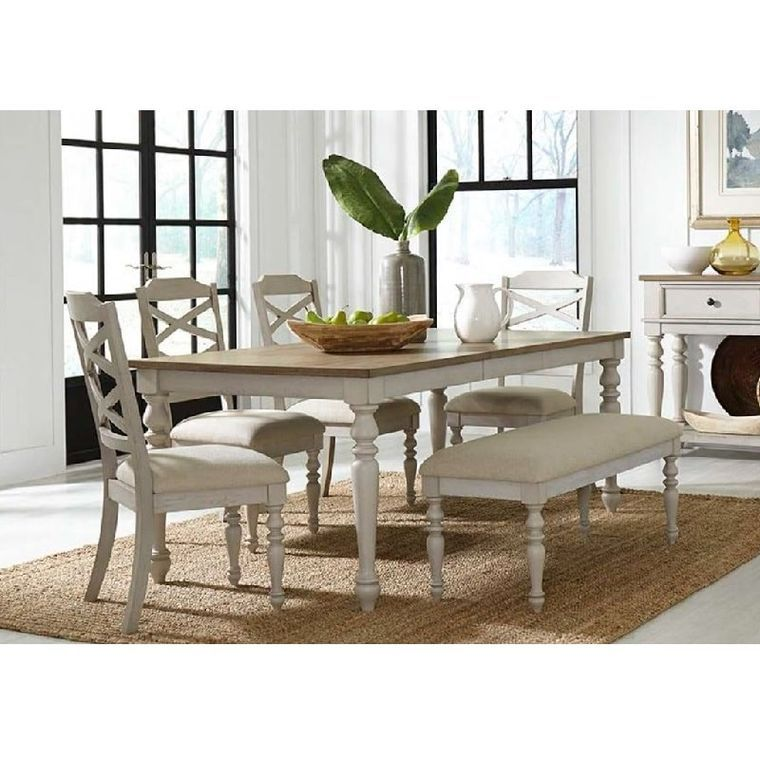 Standard Dining Room 6 Piece Larson Ii Dining Room Collection