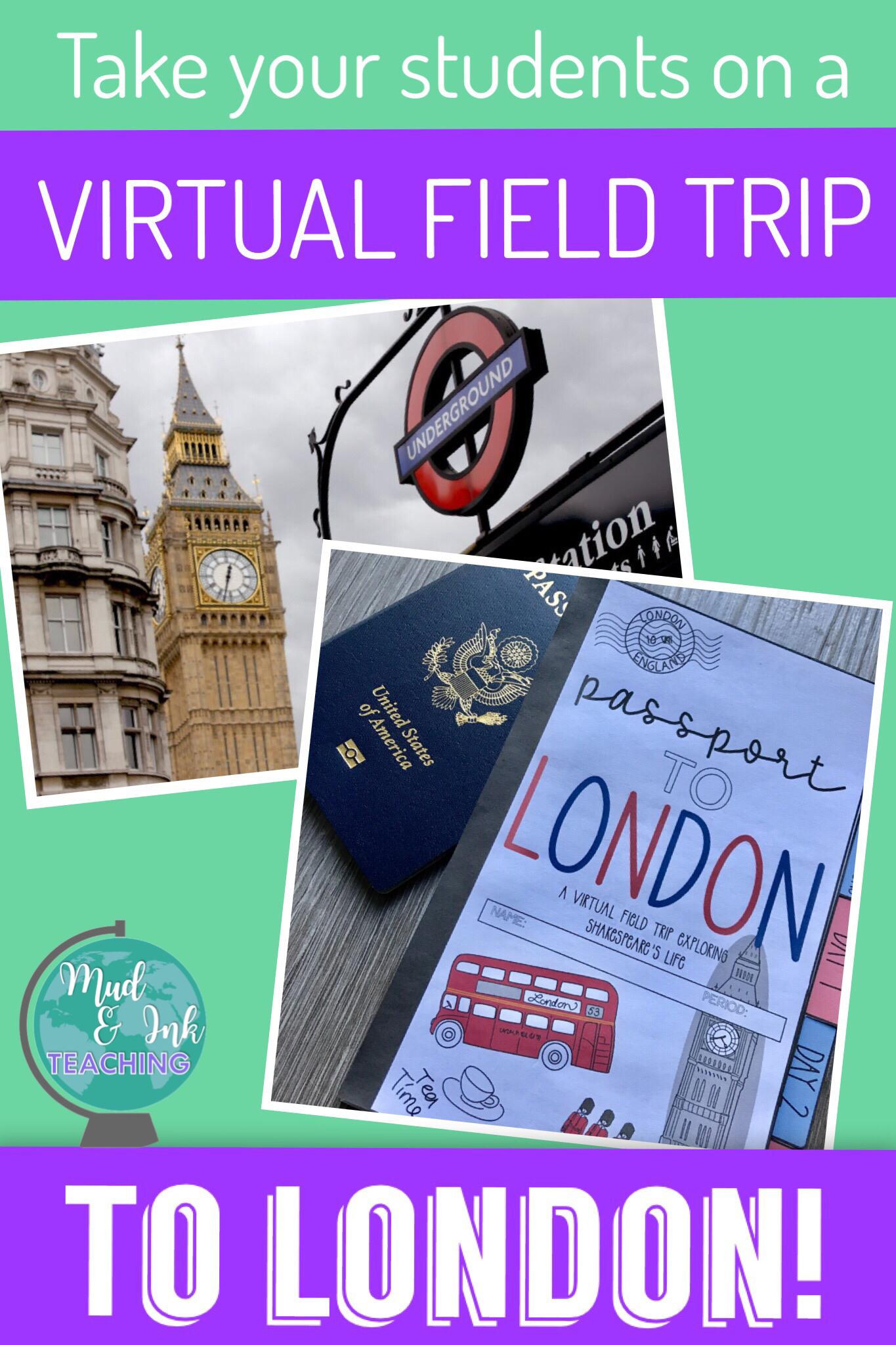 Virtual Field Trip Shakespeare S London A Prereading