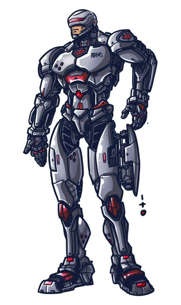Robocop Anime 2 0 Ficcao Cientifica Super Heroi Cinema Filme