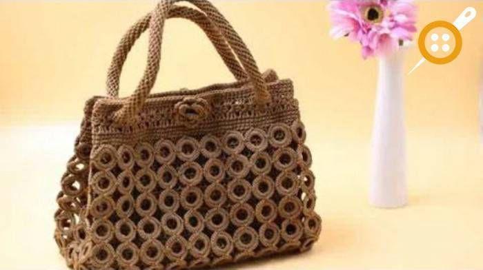Halkalardan Çanta Yapımı – Halkalı Çanta Modelleri Ve Çanta Yapımı