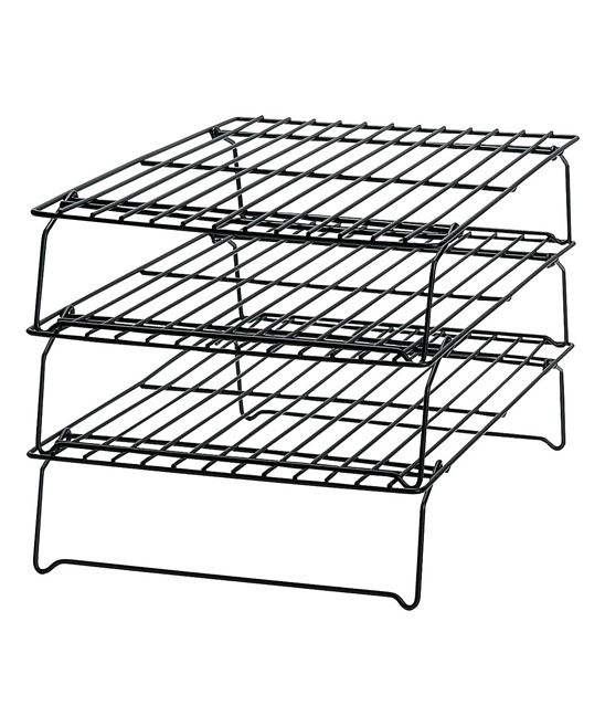 Wilton Stackable Cooling Racks Zulily 9 49 13 Product Description Save Space On Your Counters When Cookin Tiered Oven Rack Cooling Racks Cake Rack