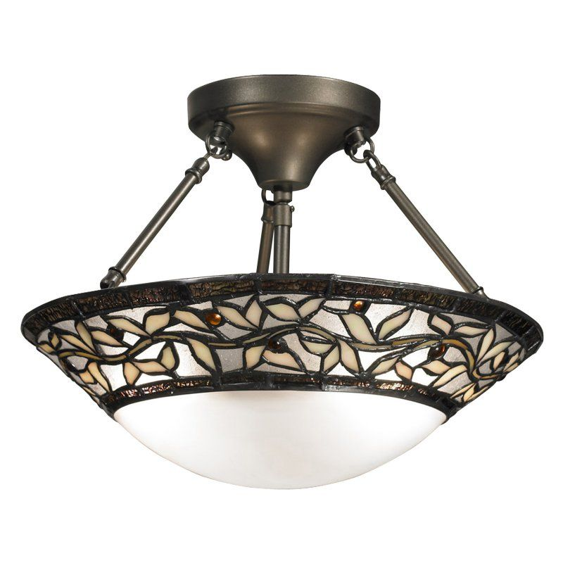 Springdale Lighting Cyprus Oaks Semi Flush Mount Ceiling Light - TH12320