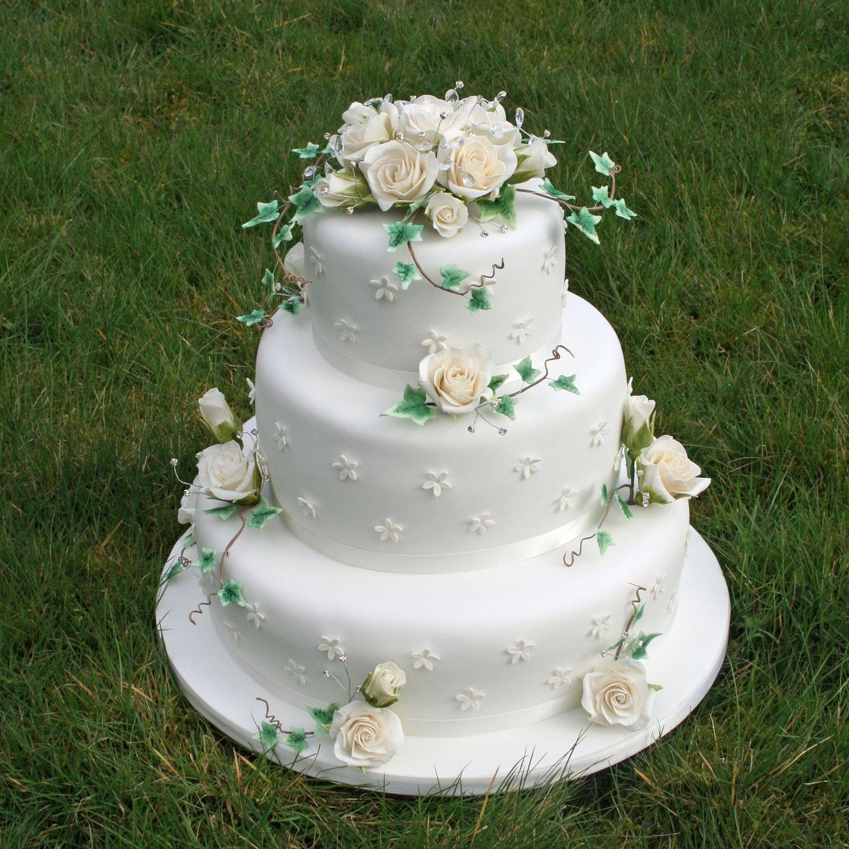 Sugarcraft Wedding Cake Decorations (Dengan gambar)
