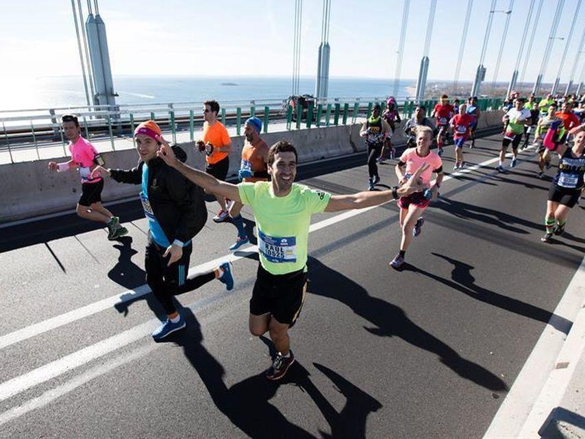 Raúl González completó la maratón de Nueva York con un tiempo de 3:26:05