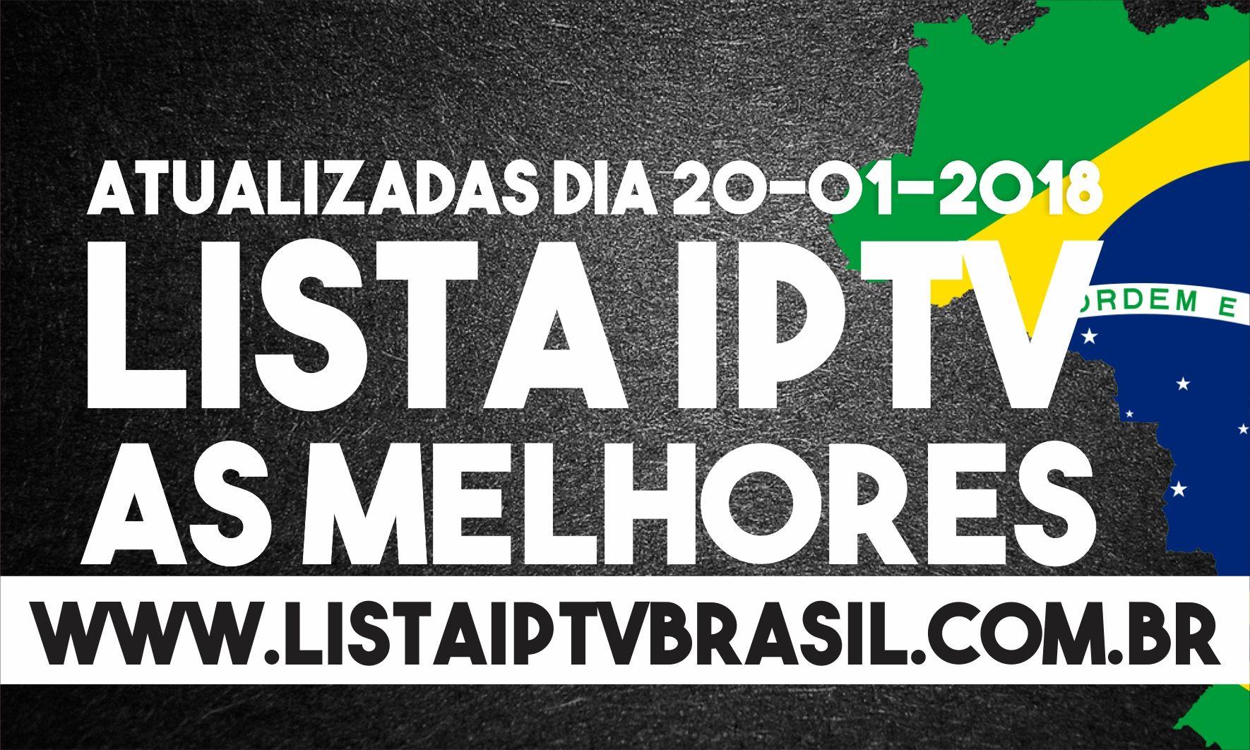 Listas IPTV atualizadas 20/01/2018 – Listas para PERFECT