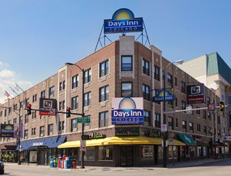 Days Inn Chicago In Illinois Clean Rooms Walking Distance To S And Food