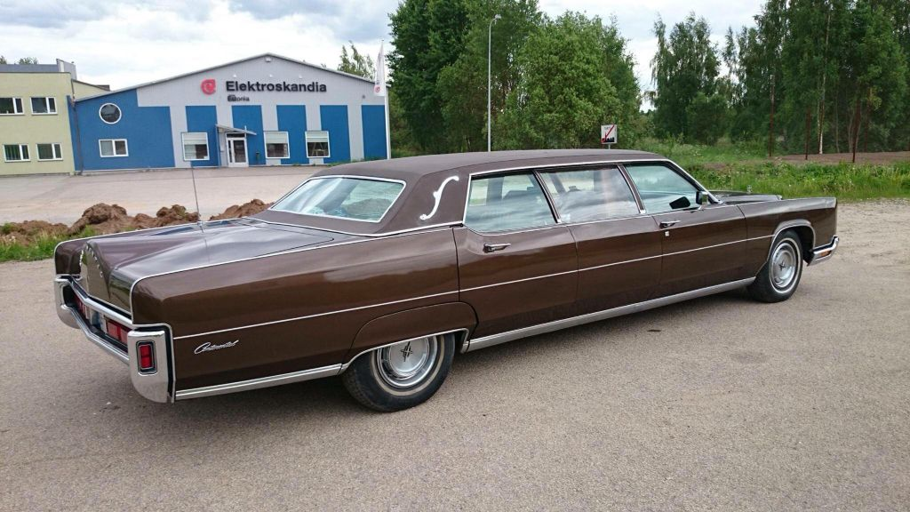 1973 Lincoln Continental Town Car Stretch Limousine Lincoln